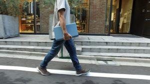WalkCar einfach unter dem Arm tragen