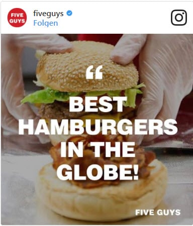 Burger-Kette Five Guys erobert Deutschland