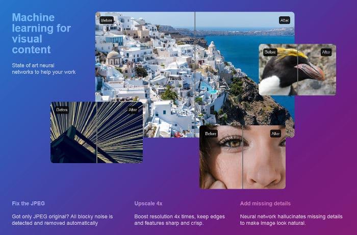 Let's Enhance verbessert Bilder mit geringer Auflösung