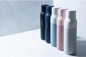 QUARTZ Selbstreinigende Wasserflasche
