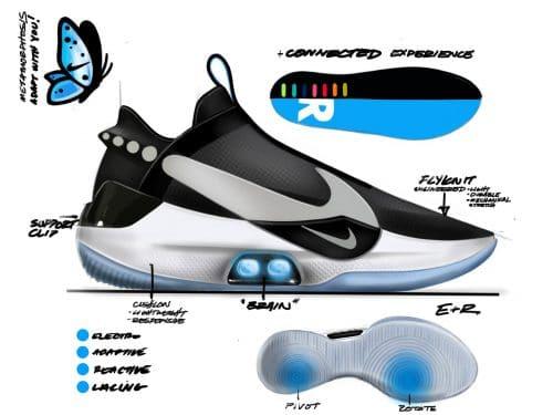 Nike Adapt BB Technick von Innen