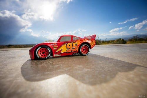 Sphero Lightning McQueen draussen