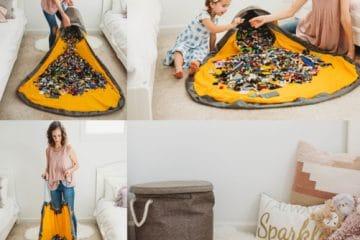 SlideAway Kinderspielzeug-Vorratsbehälter