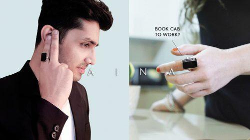 Aina Ring bequemer Zugriff auf dein Smartphone