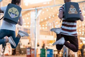 Pix Mini Rucksack für Kinder mit LEDs