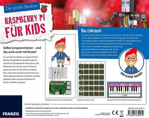Raspberry Pi Baubox für Kids Buch