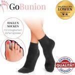 GoBunion Hallux Socken und Füßlinge zur Schmerzlinderung
